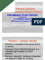 New Pension Scheme in Comparison to Old Pension Scheme