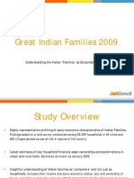 Indian Families as Consumers - JuxtConsult 2009 Brochure