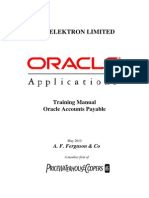 Account Payable Training Manual