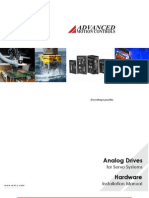 AMC AnalogDrives InstallManual