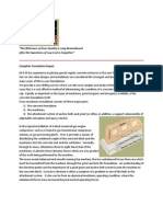 Compressor Foundation Repair