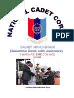 Ncc Cadet Handbook Pdf