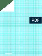 Grid Portrait a4 2mm Index