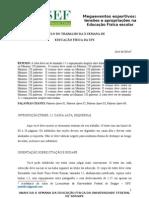 Template X SEMANA DE EDUCAÇAO FISICA