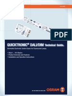 Quicktronic QTi DALI 1x28_54 DIM-Installation Guide