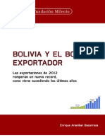 Bolivia y El Boom Exportador