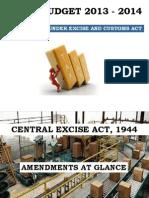 Excise & Customs - Presentation