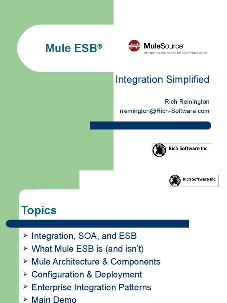 Mule ESB, 0909-Full | Enterprise Java Beans | Service