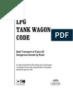 Lpg Tank Wagon Code