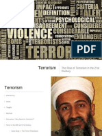 Terrorism - powerpoint for student discussion