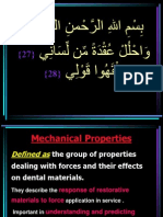 Mechanical Properties Miu