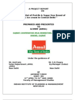 Amul Prolife (probiotic)& Sugarfree icecream Project