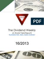 Dividend Weekly 16_2013