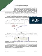 3a_Cinetique Enzymatique