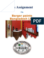 Barger Paint's Bangladesh LTD.