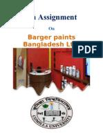 Barger Paint's Bangladesh LTD.