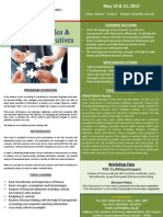 Finance for Sales & Marketing Executives - Brochure