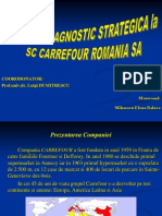 Analiza Si Diagnosticarea Strategica La S.C. CARREFOUR ROMANIA S.A.