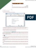 Curso Gratis de Word 2010. AulaClic. 2 - El Entorno de Word 2010