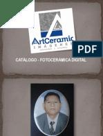 CATALOGO FORMATOS FOTOCERÁMICA DIGITAL 2013