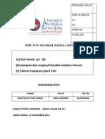 Bml 3113 Sejarah Bahasa Melayu Tugasan 1