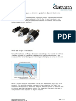Torque Measurement Guide