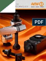 Catalogue AMF Elements de Bridage Mecaniques