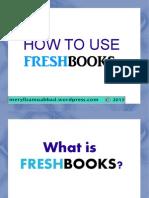Meryliza Muabbad How to Use Freshbooks