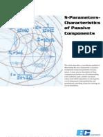 S-Parameters-Characteristics of Passive Components