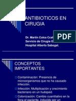Antibioticos en Cirugia III