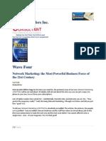 Wave Four Network Marketing