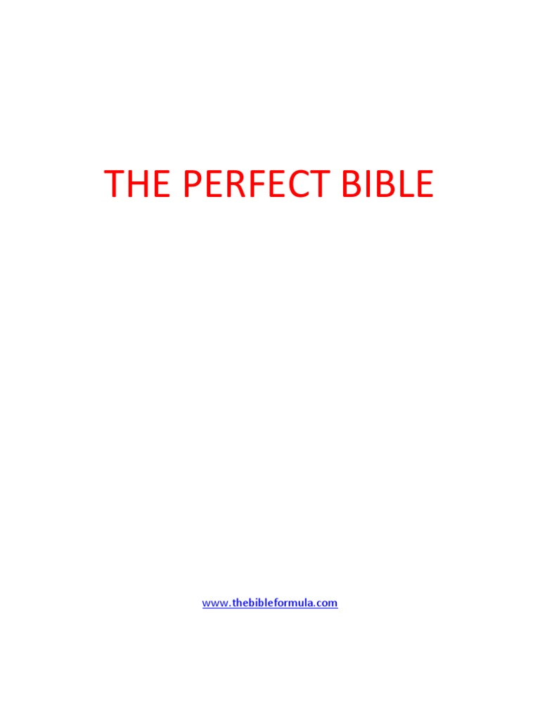 The perfect bible william tyndale king james version fandeluxe Images