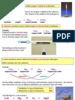 IGCSE Chemistry - Redox, reactivity series and analysis