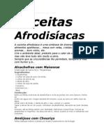 Receitas Afrodisíacas