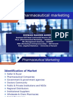 Lecture - Three (Pharma Marketing)