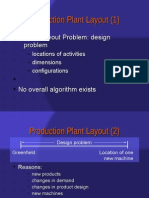 Design of Production Layout