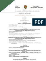 Legea Cu Privire La Fabricarea Si Circulatia Alcoolului Etilic Si a Productiei Alcoolice