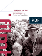 Das Wunder von Bern - Sönke Wortmann BR Deutschland 2003 Filmheft von Philipp Bühler