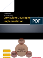 Curriculum Development and Implementation (philosophy)