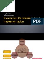 Curriculum Development and Implementation (philosophy)