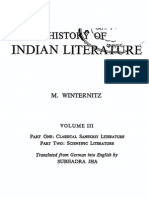 History of Indian Literature Vol. 3 by Maurice Winternitz