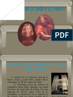 A história de D.Pedro e D.Inês de Castro