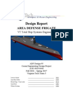 Sommergibili Design Report of a Ship