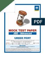 IIT Advance Paper 1 MockTest 2013