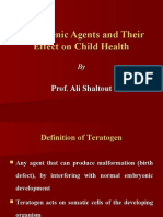 Teratogenic Agents and Their