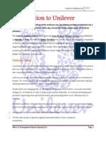 Management Report Unilever Pk Ltd