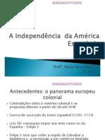 A Independencia Da America Espanhola