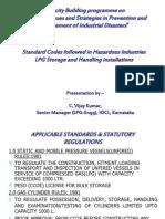 Standard Codes Followed in Lpg Industries