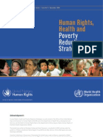 Human Rights, Health and Poverty Reduction Strategies - UN