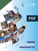 Pakistan One UN Program Annual Report 2011
